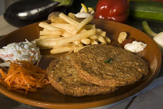 Kip-bloemkoolburger Meat Your Veggies