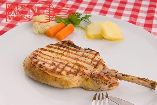 Pork racks van de grill