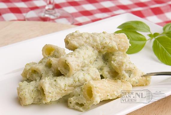 Tortiglioni met broccolicrème