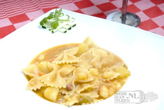 Pasta met aardappelen – pasta e patate