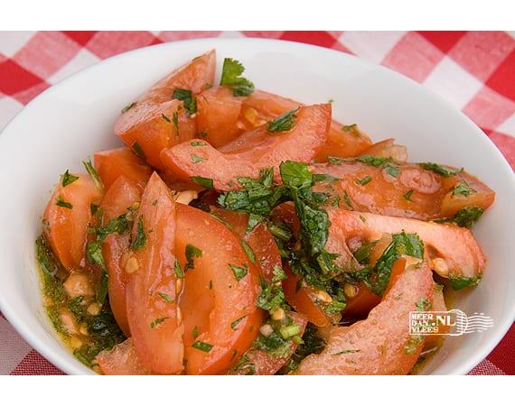 Libanese tomatensalade