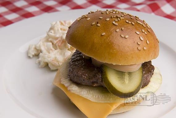 Zelf hamburgers maken