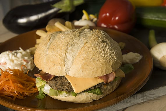 Meat your Veggies runder-champignonburger