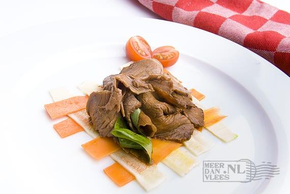 Salade van Black-Angussukade