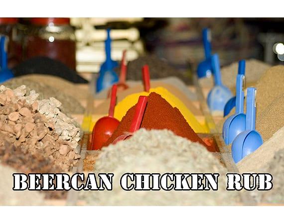 Dry rub voor beercan chicken