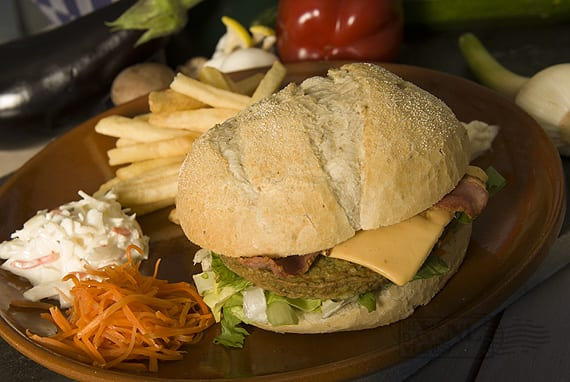 Meat your Veggies kip-bloemkoolburger