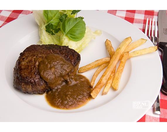 Steak uit de pan