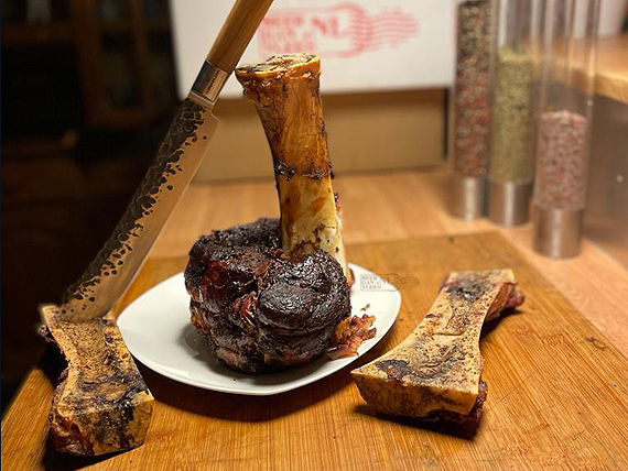 Beef Hammer op de Kamado