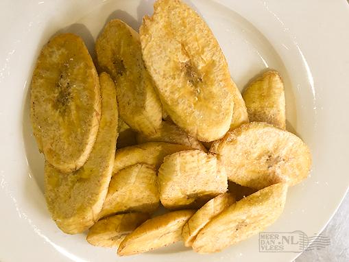 Plátano frito (gebakken bakbanaan)