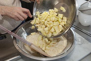Irish Apple Tart met custardsaus