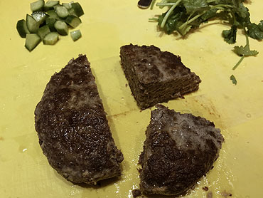 Lam kefta gehaktbrood