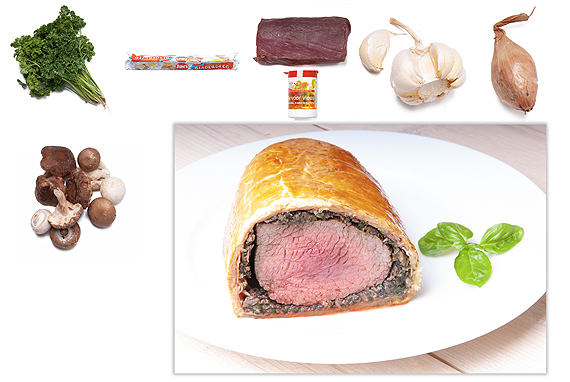 Beef Wellington box
