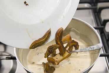 Pappardelle ai funghi porcini (met eekhoorntjesbrood)
