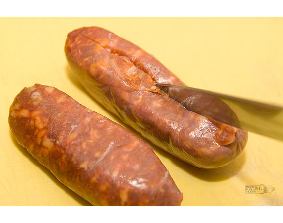 Risotto met verse worst - Risotto con salsiccia
