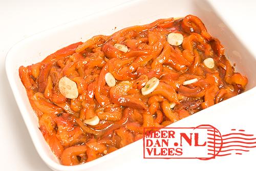 Peperonata - gestoofde paprika op zijn Italiaans