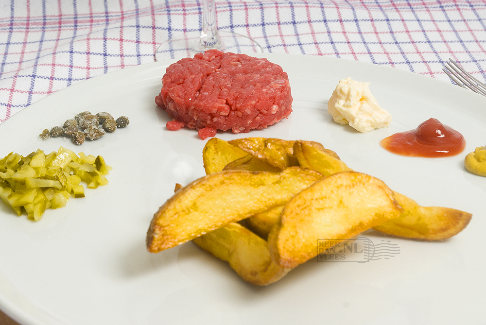 Authentieke Franse steak tartare