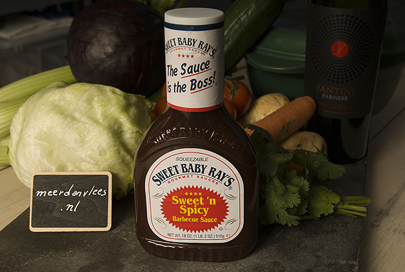 Sweet Baby Ray's Sweet & Spicy Barbecue Sauce