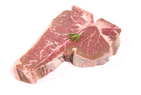 T-bone steak Gentle Giant