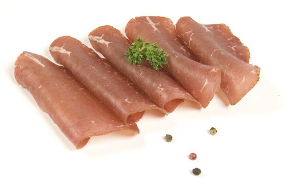Vleessalade van hamlapje natriumarm