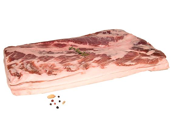 Varkensbuik iberico zonder been en zwoerd
