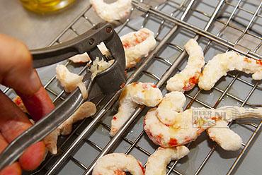 Vegan Shrimpz van de grill
