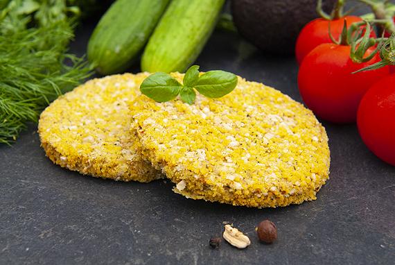 Quinoa & beans-burger Schouten