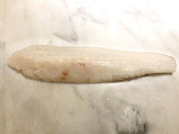 Sashimi van zeeduivel