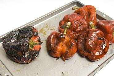 Peperonata – gestoofde paprika op zijn Italiaans