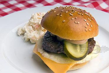 De originele, enige echte cheeseburger