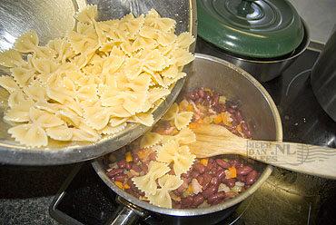 Pasta e fagioli – pasta met bonen