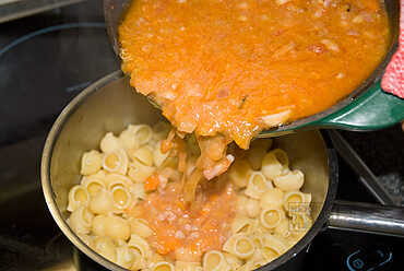 Pasta e ceci – pasta met kikkererwten