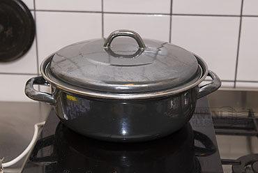 Lamsrack braden in de pan