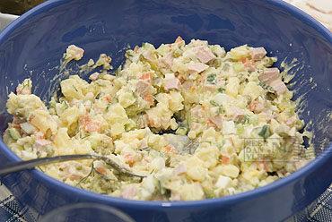 Salade Olivier Salat Olivie (салат Оливье)