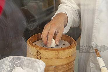 Siu Mai, een gestoomde dimsum met varkensvlees