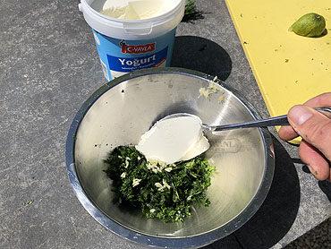 Hayadari (yoghurt-kruidensaus)